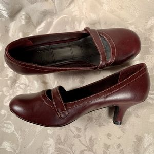 Studio 1940 Red Leather Mary Jane's